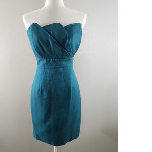 NWOT Tracy Reese Teal Cocktail Dress - Sz 8***